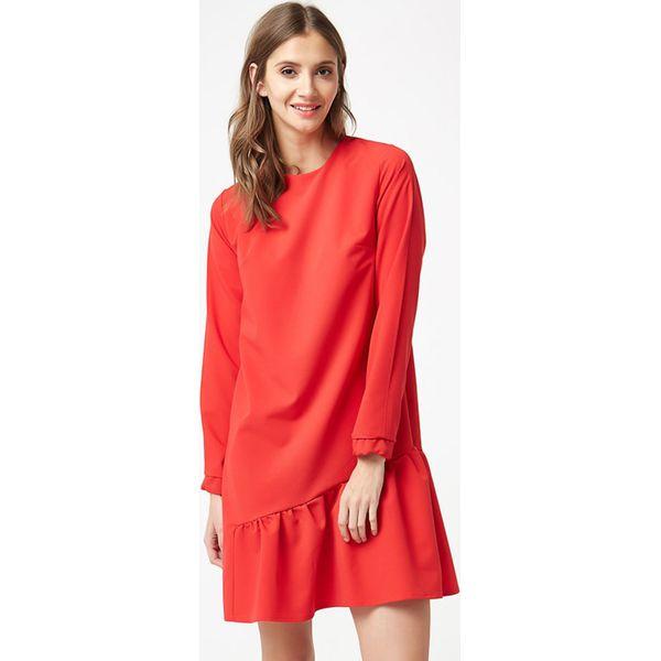 09e4a806e9 Sukienka w kolorze czerwonym - Czerwone sukienki marki Stylowa szafa ...