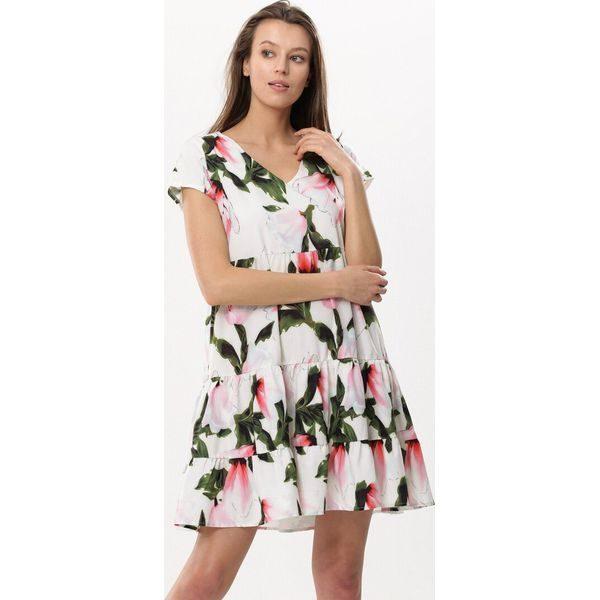 c899f46b89 Biała Sukienka Embers - Białe sukienki marki Born2be