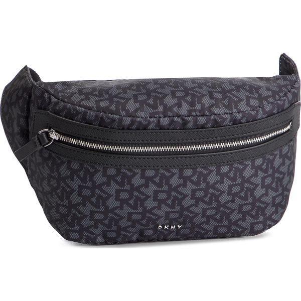 0ea012a06c6e7 Saszetka nerka DKNY – Casey-Belt Bag T&C Logo R91IFA41 Bk Logo/Bk XLB